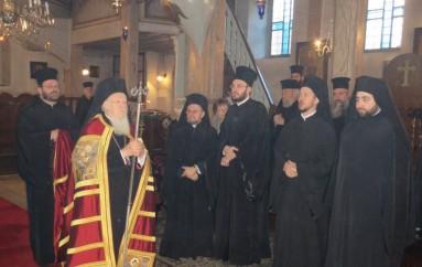 Χειροθεσία του Μ. Ιεροκήρυκος Παναρέτου από τον Οικ. Πατριάρχη (ΦΩΤΟ)