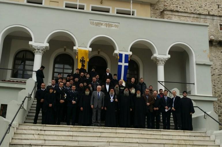 O εορτασμός της Εθνικής Επετείου στο Άγιον Όρος (ΦΩΤΟ)