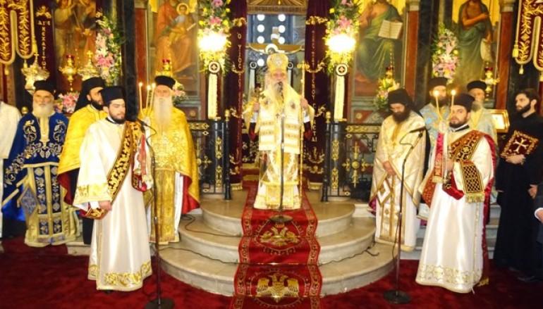 Η εορτή του Ευαγγελισμού της Θεοτόκου στην Ι. Μ. Σπάρτης (ΦΩΤΟ)