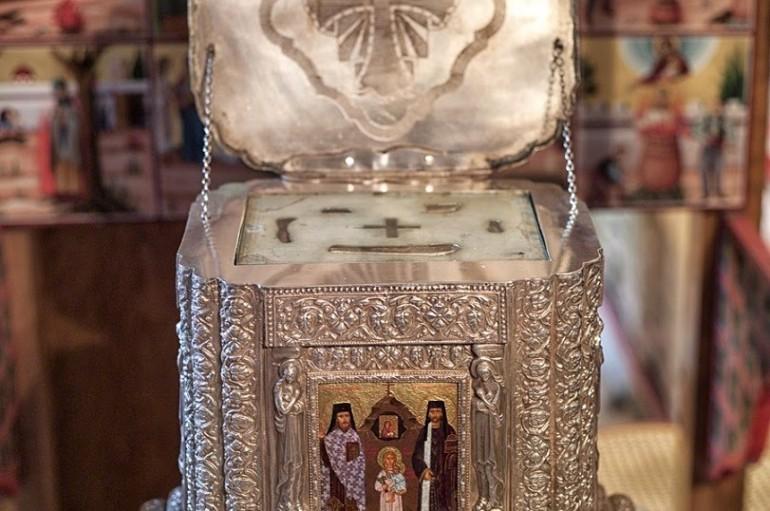 Λείψανα των Αγ. Ραφαήλ, Νικολάου και Ειρήνης στην Κοζάνη