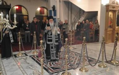 Προηγιασμένη Θεία Λειτουργία στον Ι. Ν. Αγίας Αικατερίνης Τριπόλεως (ΦΩΤΟ)