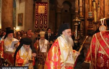 Κυριακή της Ορθοδοξίας στο Πατριαρχείο Ιεροσολύμων (ΦΩΤΟ – ΒΙΝΤΕΟ)