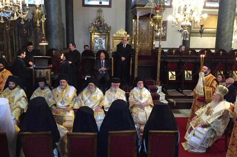 Η Κυριακή της Ορθοδοξίας στο Οικ. Πατριαρχείο (ΦΩΤΟ)