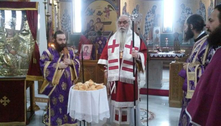 Προηγιασμένη Θ. Λειτουργία στον Άγιο Νικάνορα Καστοριάς (ΦΩΤΟ)