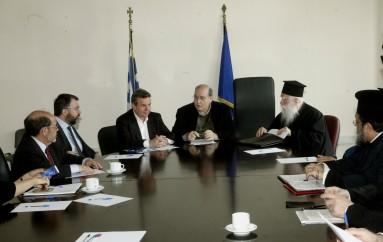 Συνεδρίασε η Επιτροπή για τη μελέτη και επίλυση θεμάτων που απασχολούν την Εκκλησία της Ελλάδος (ΦΩΤΟ)