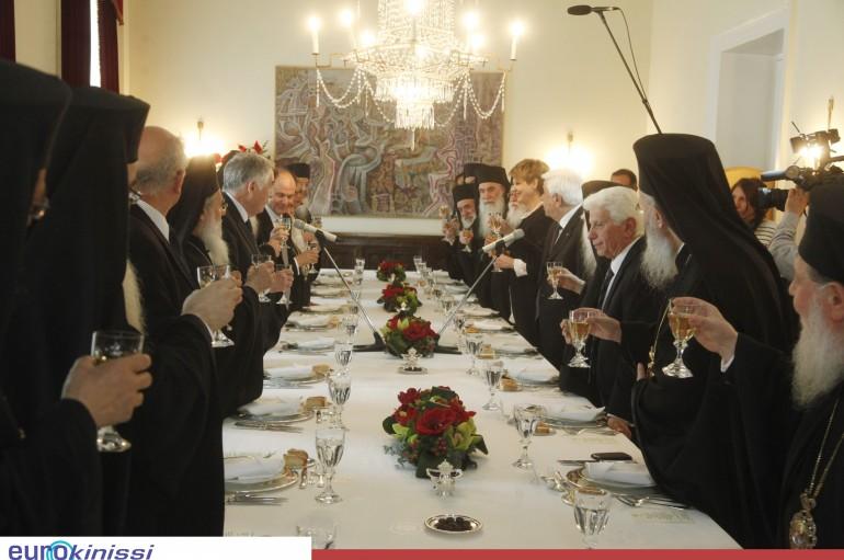 Γεύμα του Προέδρου της Δημοκρατίας στα μέλη της Δ.Ι.Σ. (ΦΩΤΟ)