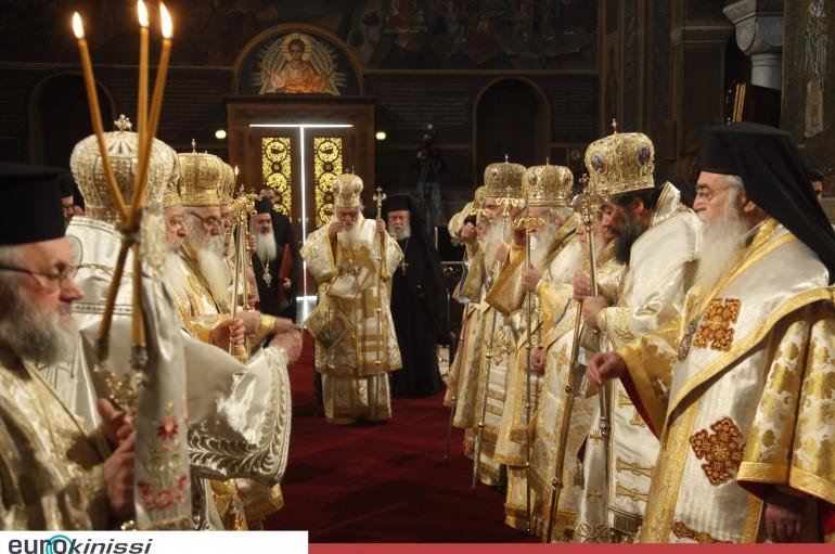 Ο εορτασμός της Κυριακής της Ορθοδοξίας στην Αθήνα (ΦΩΤΟ)