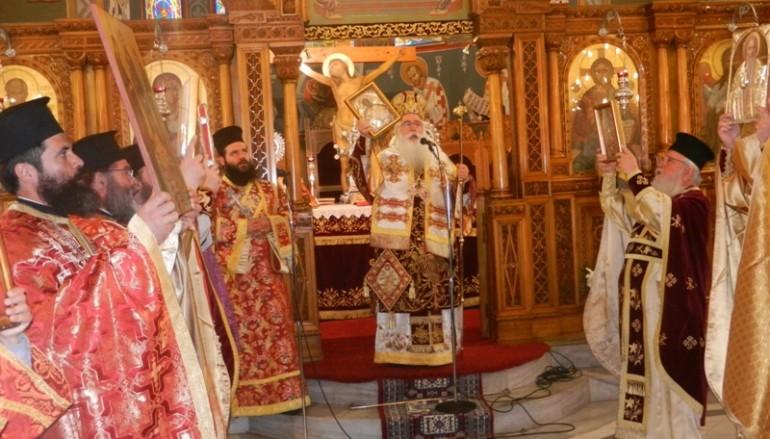 Κυριακή της Ορθοδοξίας στην Ι. Μ. Δημητριάδος (ΦΩΤΟ)