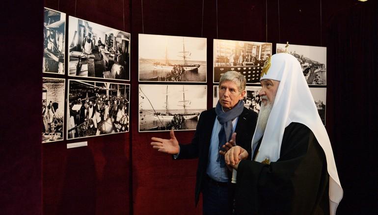 Έκθεση για το Άγιον Όρος εγκαινίασε ο Πατριάρχης Μόσχας (ΦΩΤΟ)