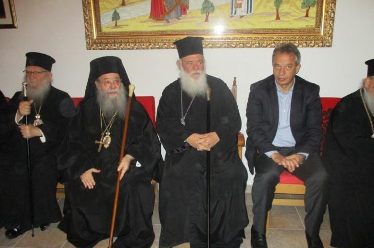 Στα Τρίκαλα ο Αρχιεπίσκοπος για τα ονομαστήρια του πρώην Τρίκκης Αλεξίου (ΦΩΤΟ)
