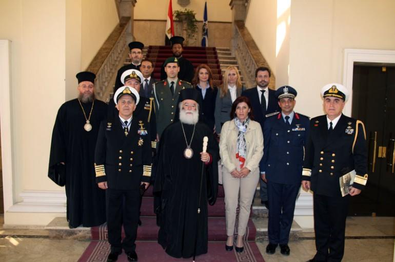 Στον Πατριάρχη Αλεξανδρείας ο Αρχηγός ΓΕΕΘΑ της Ελλάδος (ΦΩΤΟ)