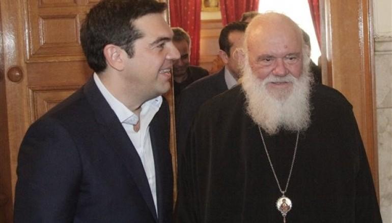 Συνάντηση Πρωθυπουργού με Αρχιεπίσκοπο για τις σχέσεις Κράτους – Εκκλησίας
