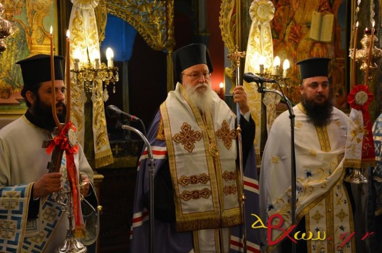 Δοξολογία για την 25η Μαρτίου στην Τρίπολη (ΦΩΤΟ)