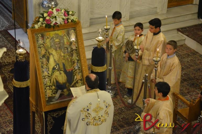 Οι Α΄Χαιρετισμοί της Υπεραγίας Θεοτόκου στην Τρίπολη (ΦΩΤΟ)