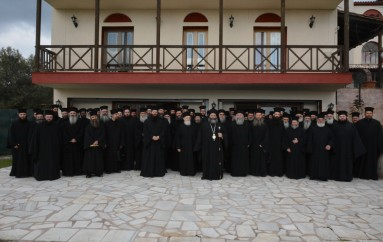Μηνιαία Ιερατική Σύναξη στην Ι. Μ. Λαγκαδά (ΦΩΤΟ)