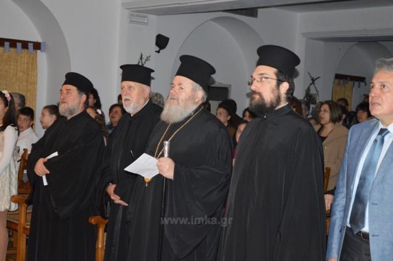 Εκδήλωση για την 25η Μαρτίου στην Ι. Μ. Κυδωνίας (ΦΩΤΟ)