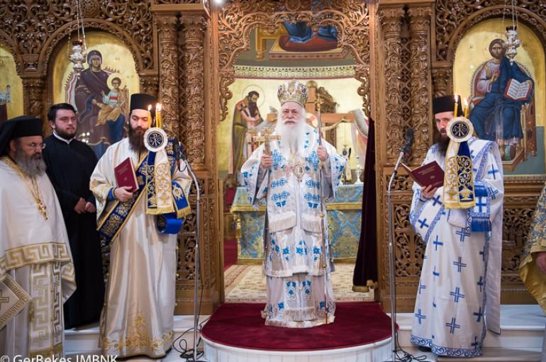 Η εορτή του Ευαγγελισμού στην Ι. Μ. Βεροίας (ΦΩΤΟ)