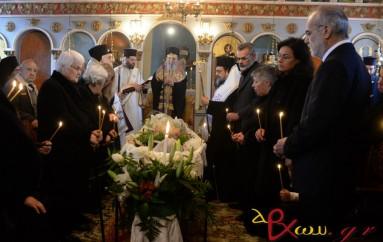 Η κηδεία της μητρός του Δ/ντη του Ραδιοφωνικού Σταθμού της Εκκλησίας της Ελλάδος (ΦΩΤΟ)