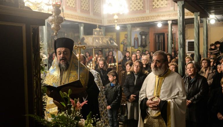 Στην Κορώνη για τη Β' Στάση των Χαιρετισμών ο Μητροπολίτης Μεσσηνίας (ΦΩΤΟ – ΒΙΝΤΕΟ)