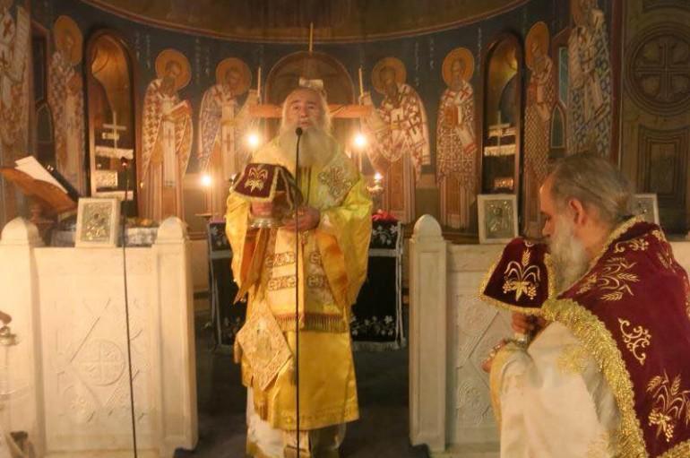 Η εορτή του Ευαγγελισμού στον Αγ. Ανδρέα Γηροκομείου Αθηνών (ΦΩΤΟ)
