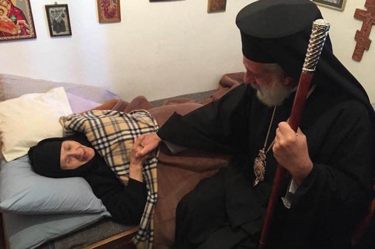 Εκοιμήθη η Ηγουμένη της Ι. Μονής Ζωοδόχου Πηγής Άνδρου