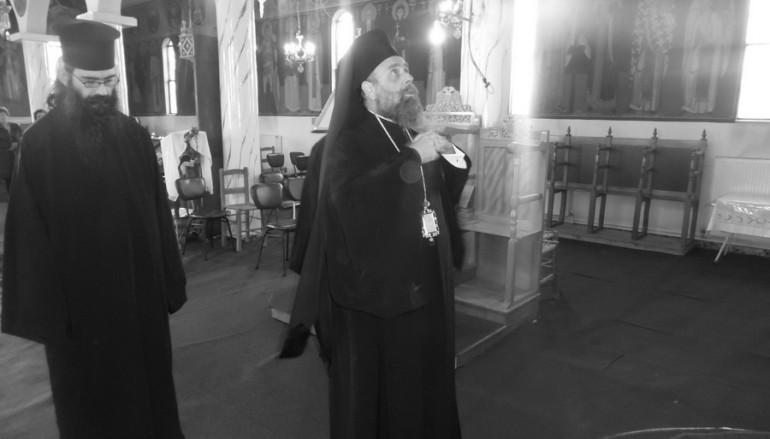 Προηγιασμένη Θ. Λειτουργία από το Μητροπολίτη Θεσσαλιώτιδος (ΦΩΤΟ)