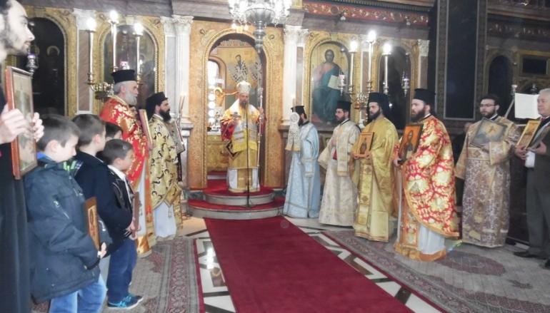 Η Κυριακή της Ορθοδοξίας στην Καρδίτσα (ΦΩΤΟ)