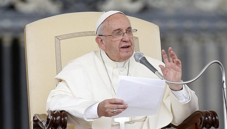 Πάπας Φραγκίσκος: «Η Ευρώπη να ανοίξει την καρδιά και τις πόρτες της στους πρόσφυγες»