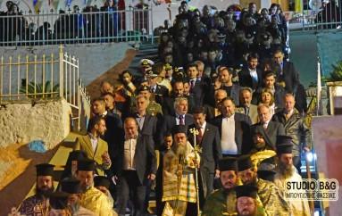 Ο εσπερινός του Ευαγγελισμού της Θεοτόκου στο Ναύπλιο (ΦΩΤΟ – ΒΙΝΤΕΟ)
