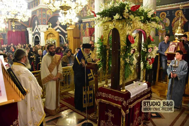 Η Β΄στάση των Χαιρετισμών στην Ι. Μ. Αργολίδος (ΦΩΤΟ)