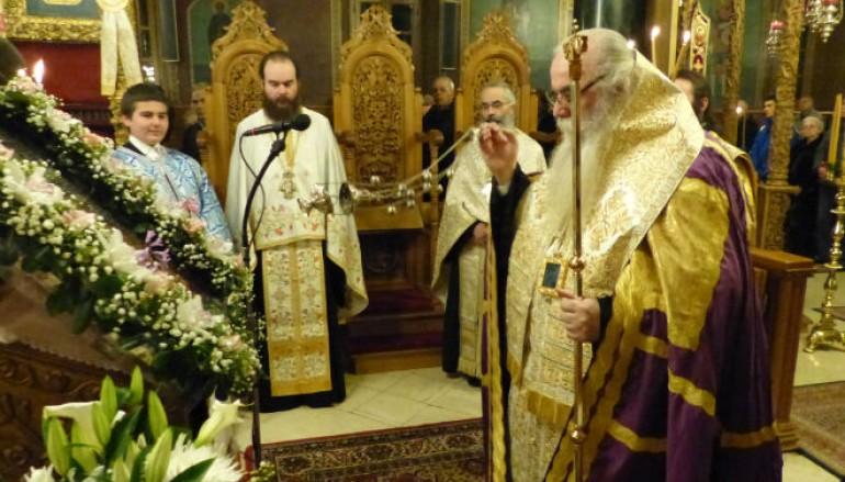 Η Α' Στάση των Χαιρετισμών στον Καθεδρικό Ναό Καστοριάς (ΦΩΤΟ – ΒΙΝΤΕΟ)