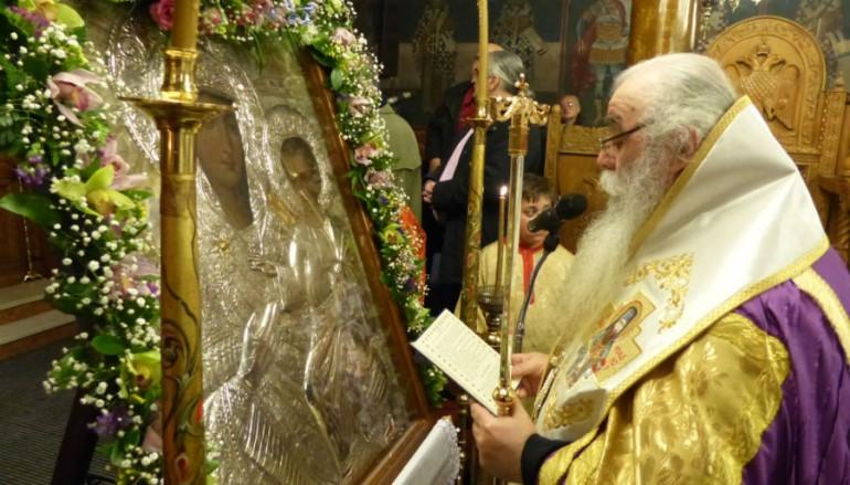 Ο Μεθέορτος Εσπερινός του Ευαγγελισμού στην Ι. Μ. Καστορίας (ΦΩΤΟ)