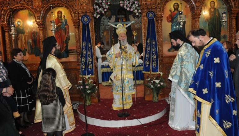 Η εορτή του Ευαγγελισμού της Θεοτόκου και της Εθνικής Επετείου στη Χαλκίδα (ΦΩΤΟ)