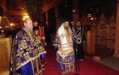 Προηγιασμένη Θ. Λειτουργία στην Άμπελο Σοφάδων (ΦΩΤΟ)