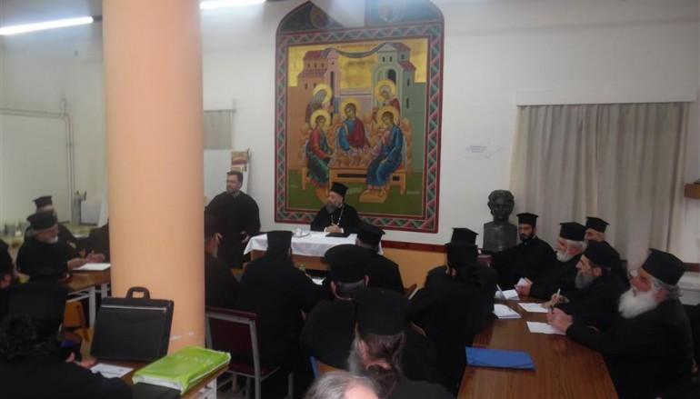 Έναρξη επιμορφωτικού σεμιναρίου για τους Ιερείς της Ι. Μ. Θεσσαλιώτιδος (ΦΩΤΟ)