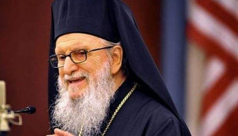 Ο Αρχιεπίσκοπος Αμερικής για τις επιθέσεις στις Βρυξέλλες