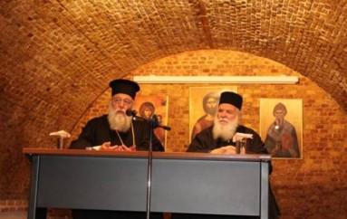 Ιερατική Σύναξη στην Ι. Μ. Κερκύρας (ΦΩΤΟ)