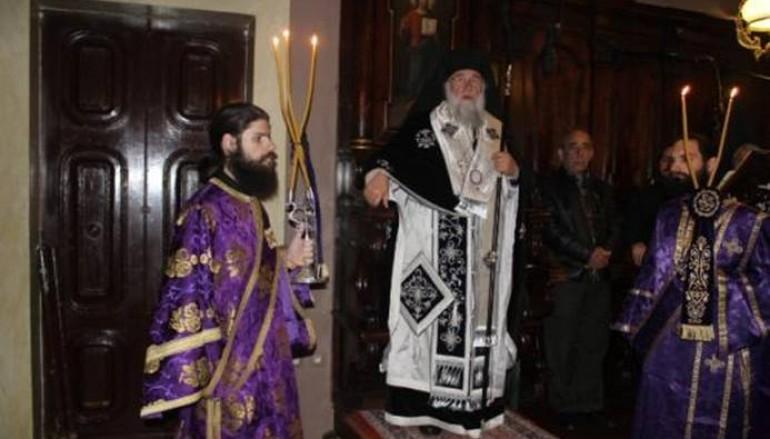 Προηγιασμένη Θεία Λειτουργία στην Ι. Μ. Κερκύρας (ΦΩΤΟ)