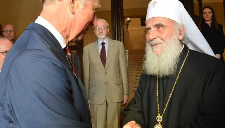 Στον Πατριάρχη Σερβίας ο Πρίγκιπας Κάρολος της Αγγλίας (ΦΩΤΟ)