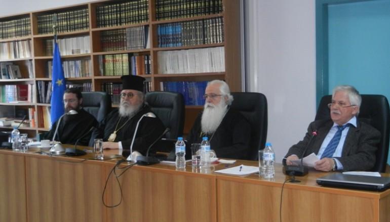 Ο Μητροπολίτης Καισαριανής στην Ιερατική Σύναξη της Ι. Μ. Δημητριάδος (ΦΩΤΟ)