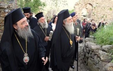 Οι Δ΄ Χαιρετισμοί στο Μυστρά από το Μητροπολίτη Πατρών (ΦΩΤΟ)
