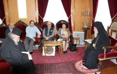 Καθηγητές του Ε.Μ.Π. επισκέφθηκαν τον Πατριάρχη Ιεροσολύμων (ΦΩΤΟ)