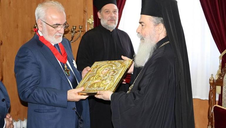 Στον Πατριάρχη Ιεροσολύμων ο Ιβάν Σαββίδης (ΦΩΤΟ – ΒΙΝΤΕΟ)