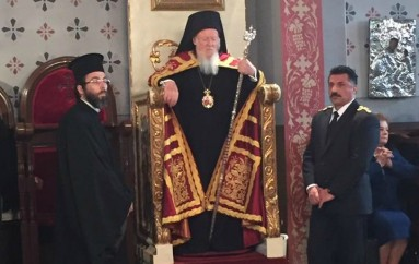 Ο Οικουμενικός Πατριάρχης στην Παναγία των Βλαχερνών για τους Χαιρετισμούς της Θεοτόκου (ΦΩΤΟ-ΒΙΝΤΕΟ)