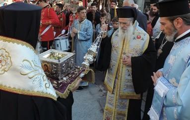 Η Ιερά Σιαγόνα του Τιμίου Προδρόμου στην Άρτα (ΦΩΤΟ-ΒΙΝΤΕΟ)