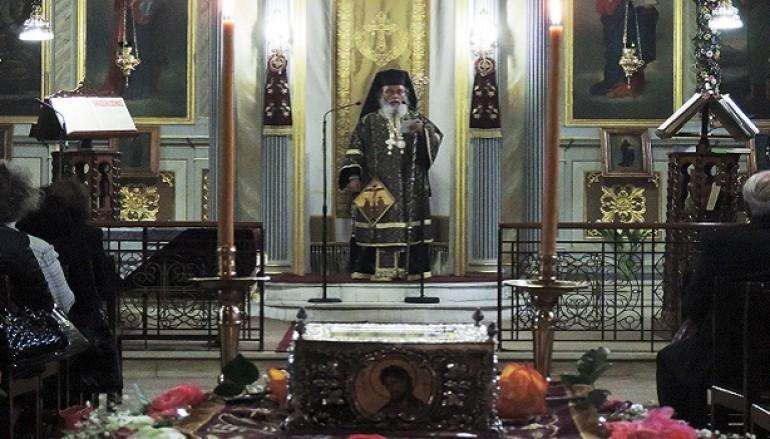 Προηγιασμένη Θεία Λειτουργία στον Ι.Ν.Αγ. Γεωργίου Άρτης (ΦΩΤΟ)