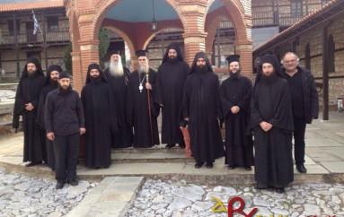 Ο Επίσκοπος Επιδαύρου στην Ι. Μονή Ζάβορδας Γρεβενών (ΦΩΤΟ)