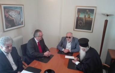 Ο Μητροπολίτης Σισανίου συναντήθηκε με τον Υπουργό Εσωτερικών (ΒΙΝΤΕΟ)