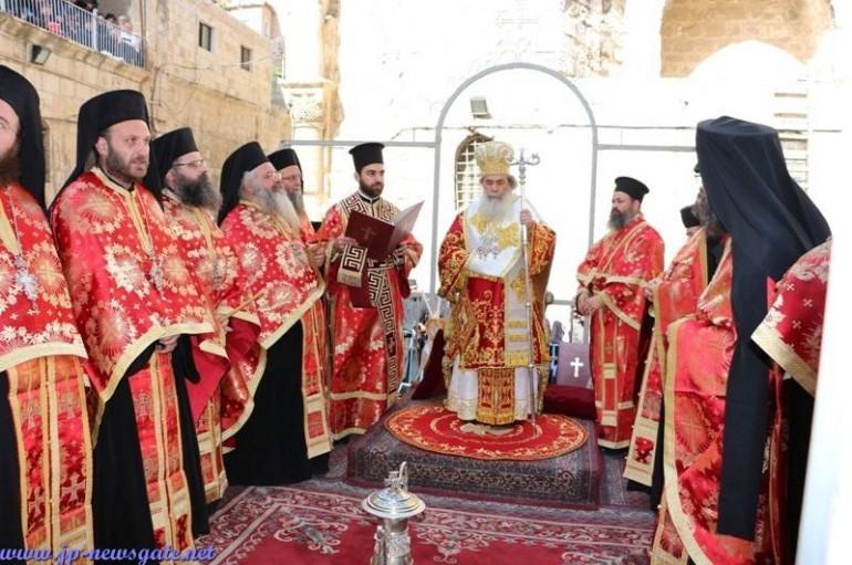 Η τελετή του Νιπτήρος στο Πατριαρχείο Ιεροσολύμων (ΦΩΤΟ – ΒΙΝΤΕΟ)