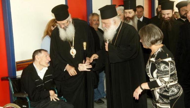 Φαρμακευτικό υλικό στο Σταυρίδειο Ίδρυμα από τον Αρχιεπίσκοπο Αθηνών (ΦΩΤΟ)